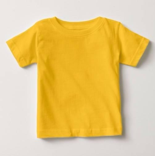 Remera Básica Amarilla