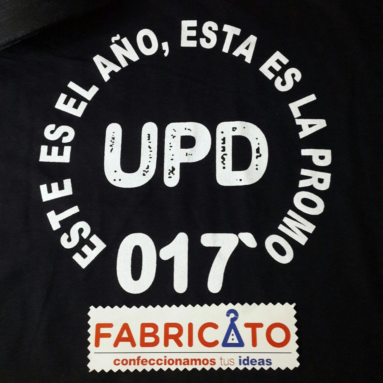 Remera Básica UPD Negro
