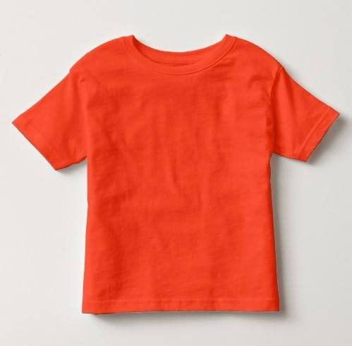 Remera Básica Naranja