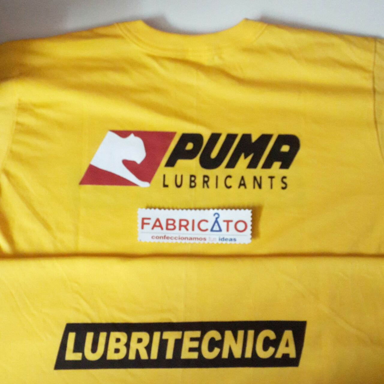 Remera Básica Serigrafiada Puma
