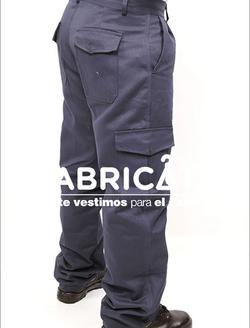 Pantalón Carpintero tipo Cargo