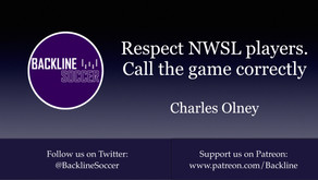 Respect NWSL players. Call the game correctly
