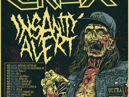 Insanity Alert announce new tour dates for 2021