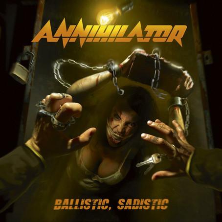 Annihilator - Ballistic, Sadistic: Review
