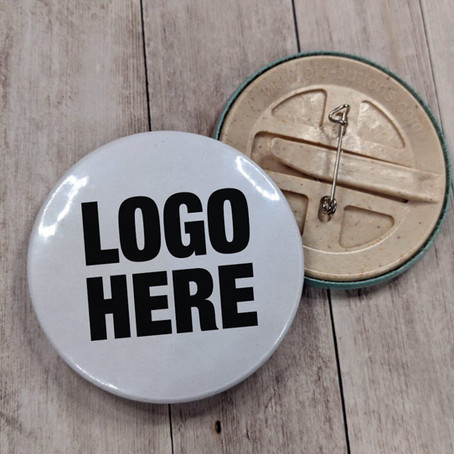 Eco friendly button badges