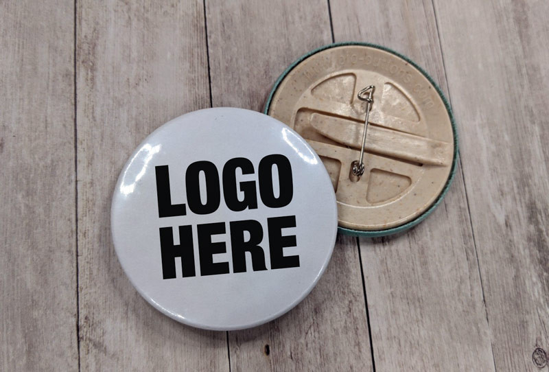 eco friendly button badges