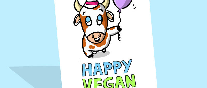 Happy vegan birthday