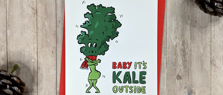 kale card