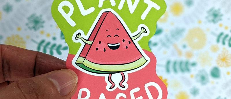 Plant Based Sticker | Watermelon