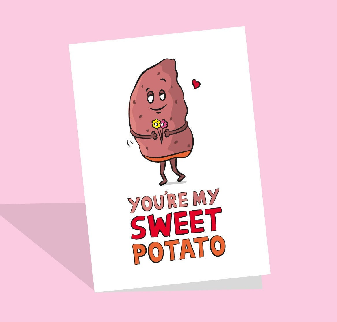 sweet potato card