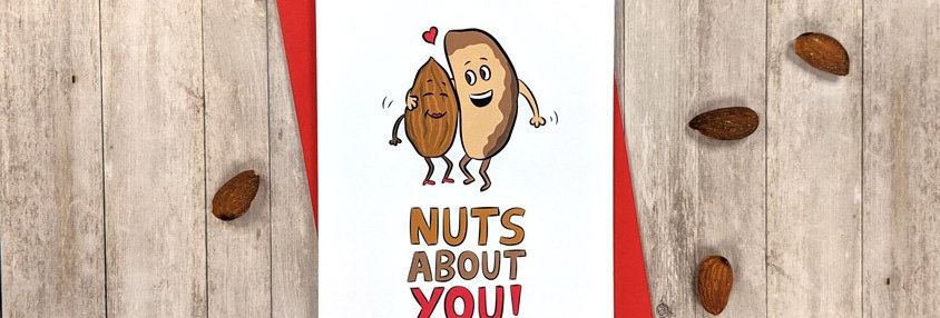 I'm nuts about you card