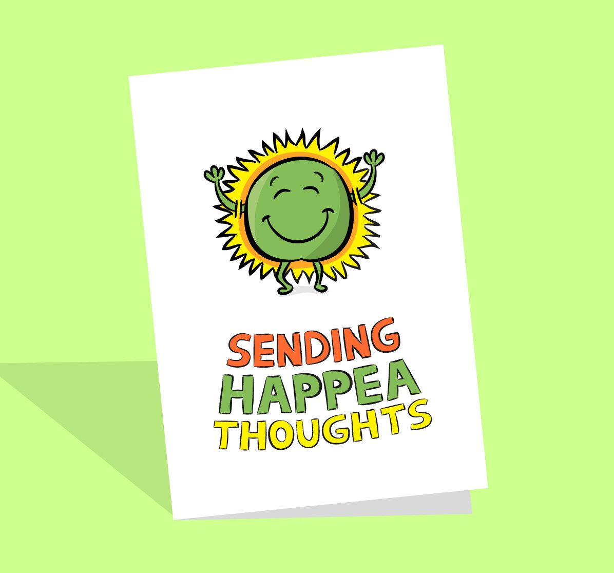 positive pea card