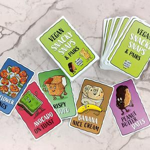Vegan Snaps Card Game