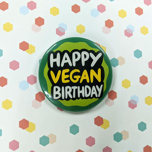 Happy vegan birthday ideas
