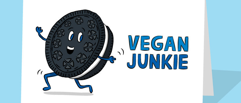 vegan junkie card