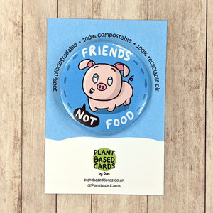 Vegan Badges that are eco friendly