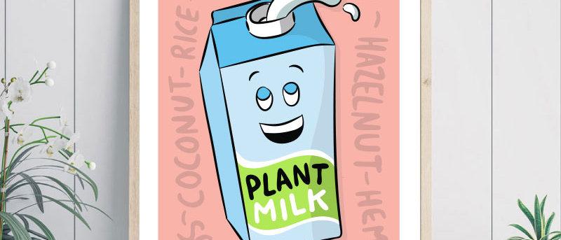 plant milk print