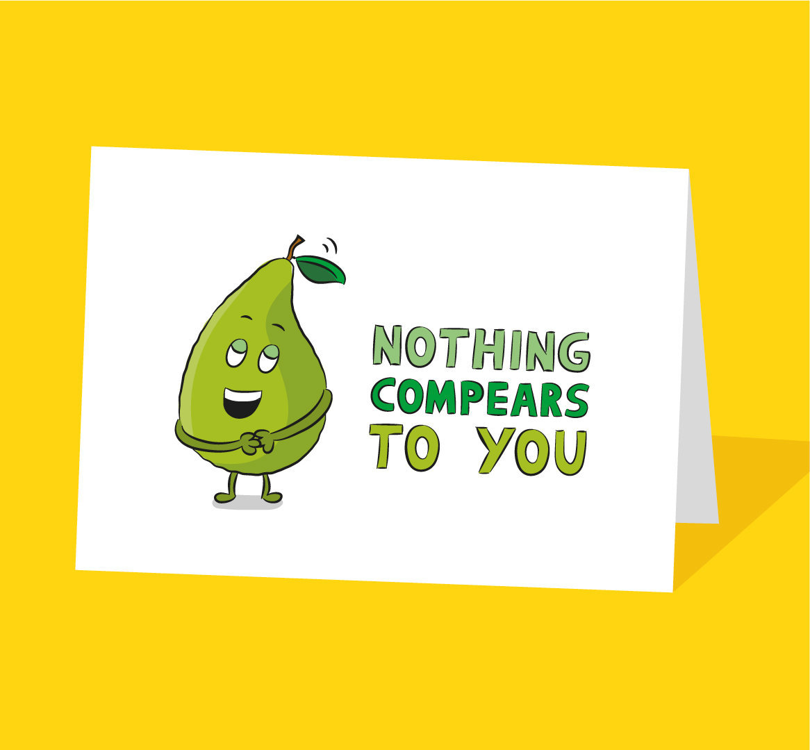 nothing compares to you card