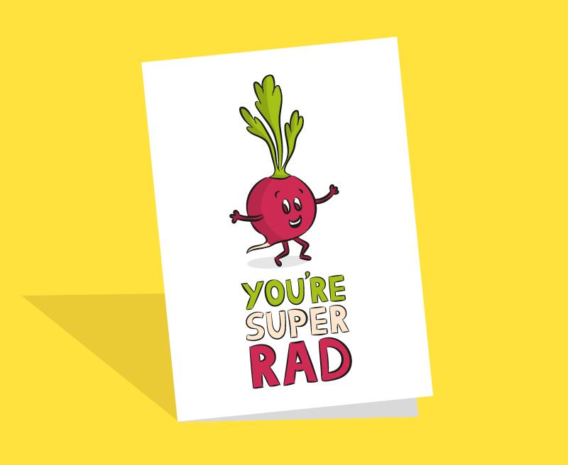 Radish cards