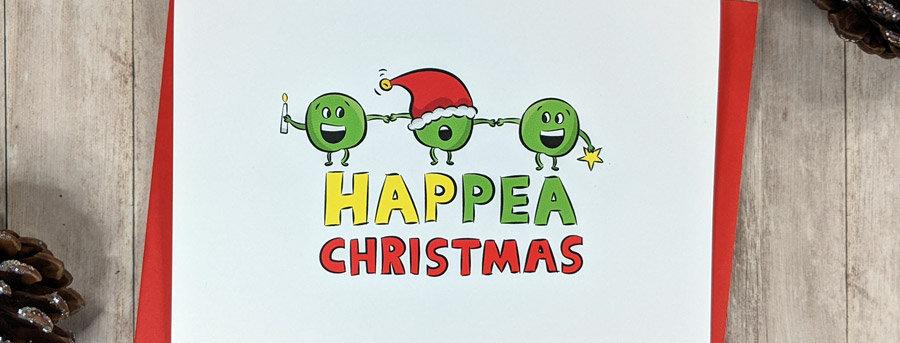 funny happy christmas card