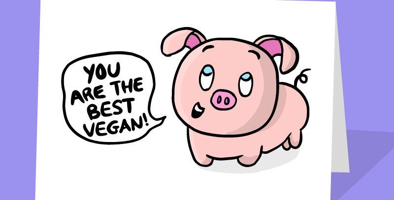 Best vegan card