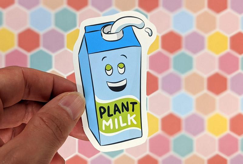 dairy free sticker