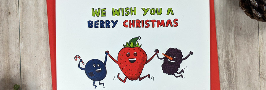 Berry Christmas Card