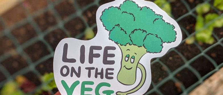 Life on the Veg sticker