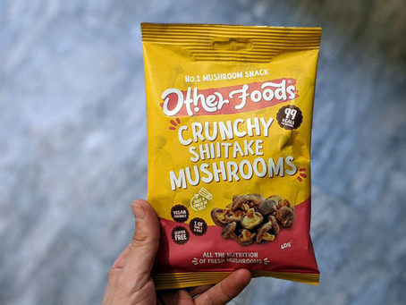Other foods mushroom snack - Review
