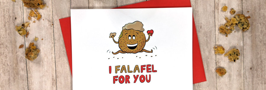 love falafel card