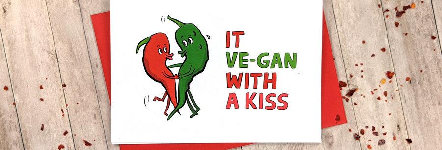 vegan love cards