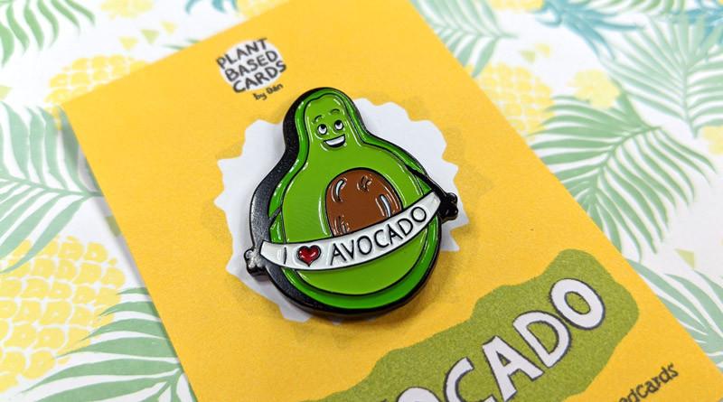 cute avocado pin