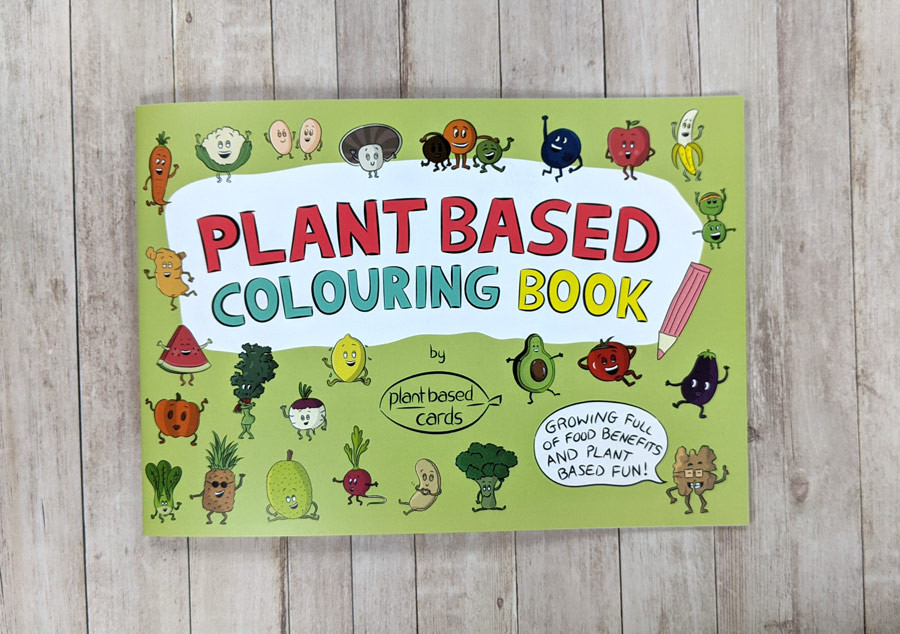 Vegan Colouring Book