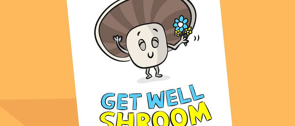 Vegan Get Well Soon Card