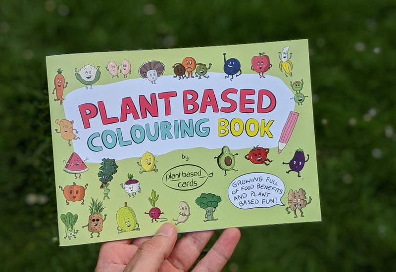 Vegan Colouring Book