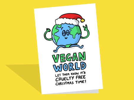 Vegan Christmas Cards UK 2020