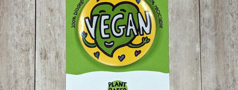Vegan badge