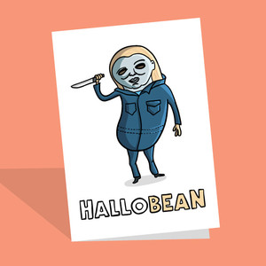 Vegan Halloween Cards for sharing in 2021