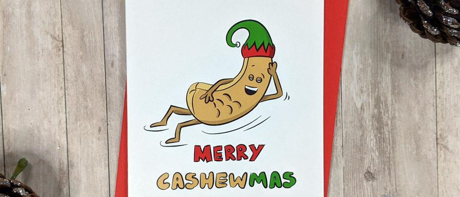 Nutty Christmas Card