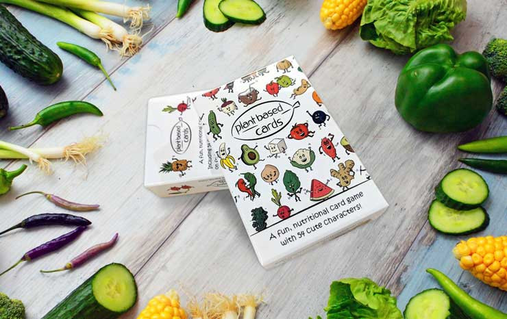 plant based top trumps card game