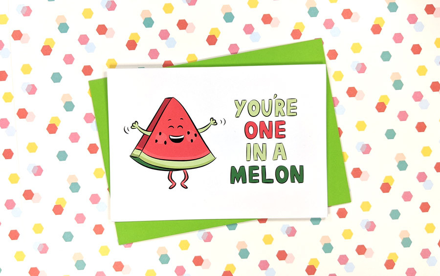 one in a melon mothers day