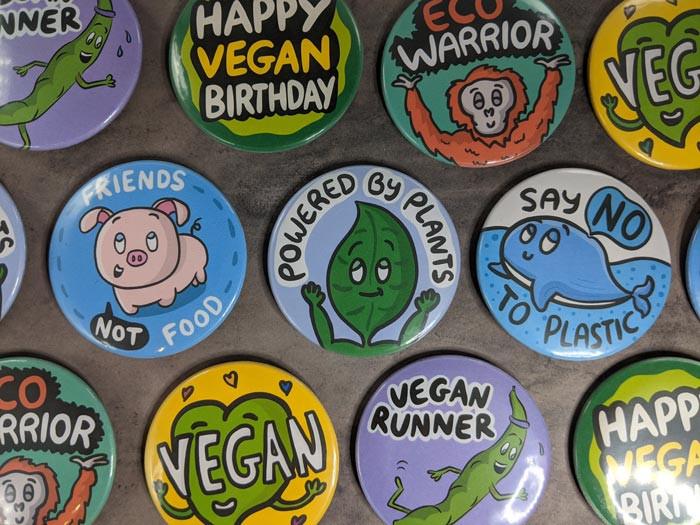 plastic free badges