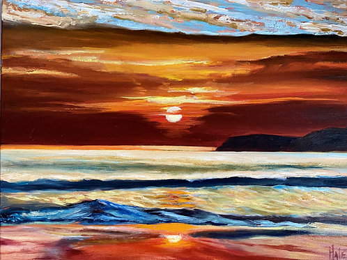 Gallery Wrapped Sunset picture