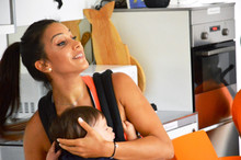 SLING DANCE traz muitos benefícios para a mãe e o seu bebé