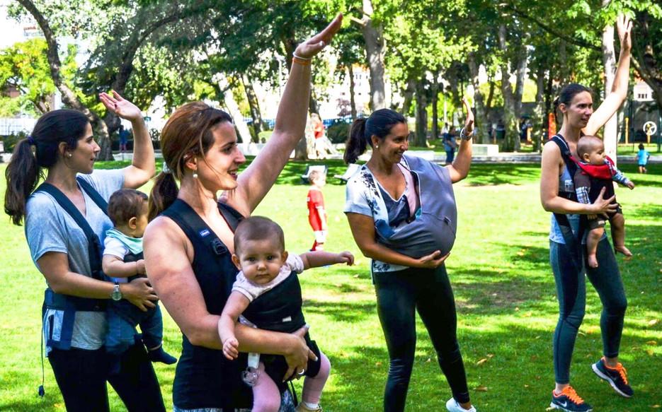 O que as Mamãs pensam do Sling Dance!