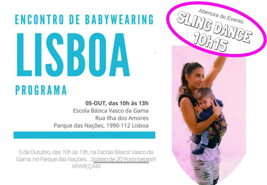 2º Encontro nacional de Babywearing - 5 de Outubro