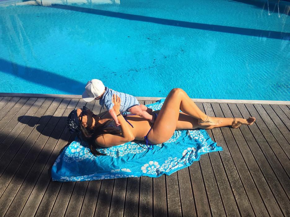 A importancia do sol nos bebés