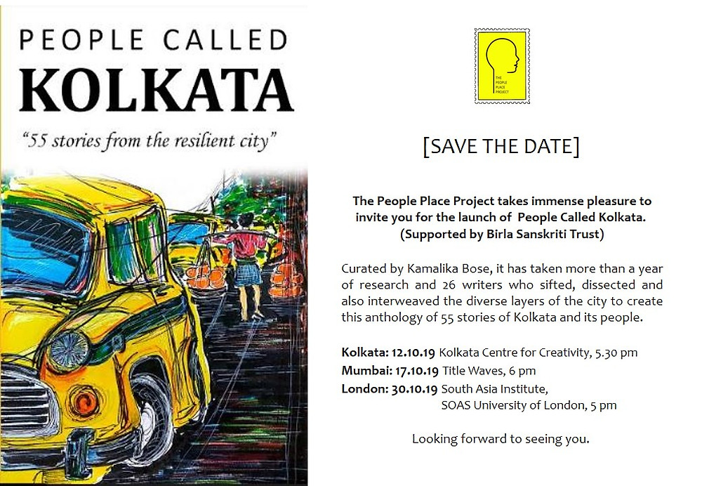 People Called Kolkata- Book Launch Invite