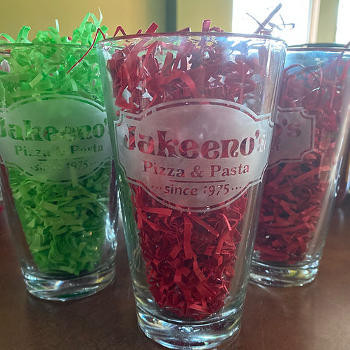 Jakeeno's Etched Pint Glass