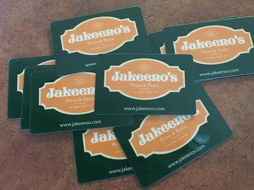 Jakeeno's $25 Gift Card